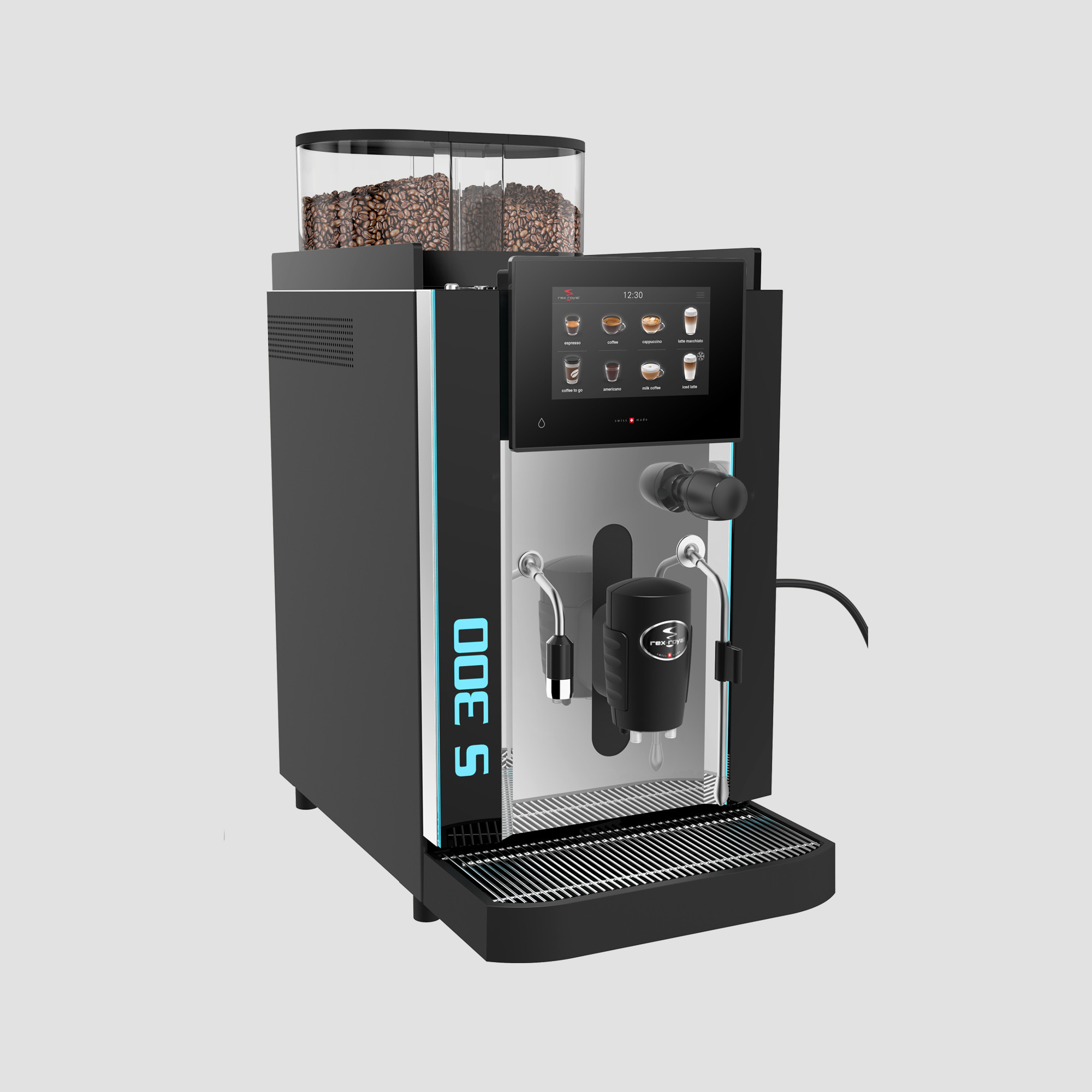 [REXROYAL] Automatic Coffee Machines_S300 MCST (Touch Screen)